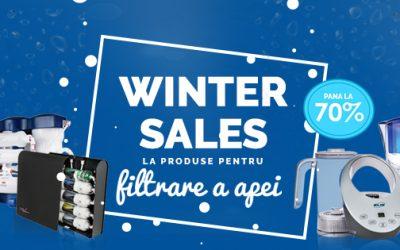 Winter Sales la Aquline – reduceri de iarna la filtre casnice si accesorii