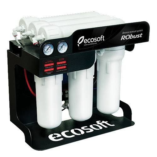 Sistem de filtrare al apei profesional cu osmoza inversa Ecosoft RObust 60 L h