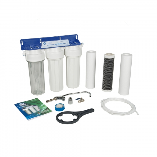 Sistem de microfiltrare al apei in 3 etape Aquafilter FP3-2