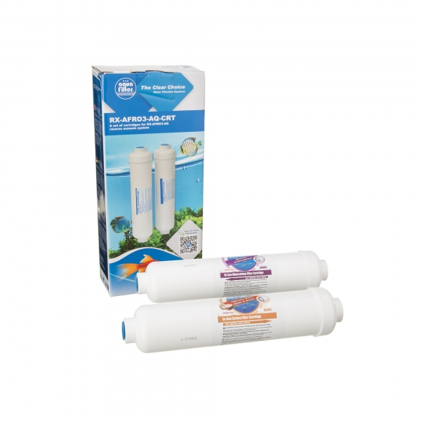 Set 2 filtre In-Line de schimb Aquafilter pentru RX-AFRO3-AQ