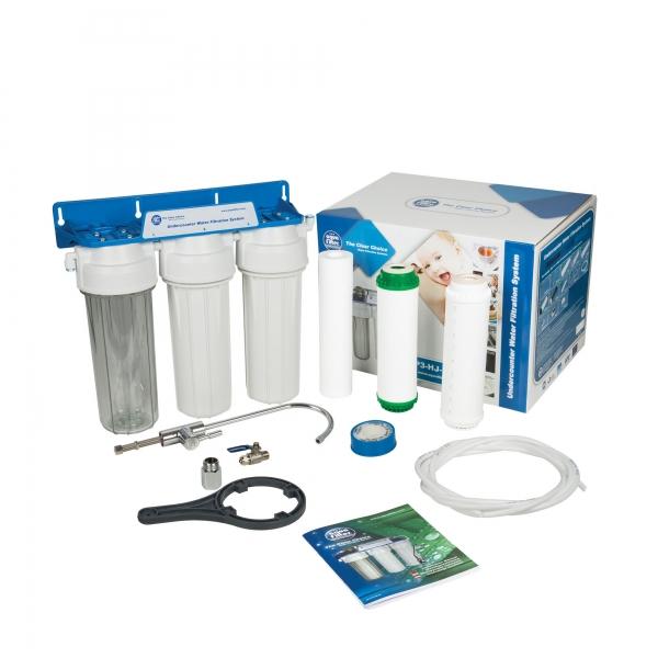 Sistem de microfiltrare al apei in 3 etape Aquafilter FP3-K1