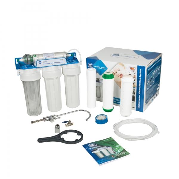 Sistem de ultrafiltrare al apei in 4 etape Aquafilter FP3-HJ-K1